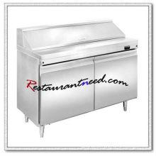 R264 1.2m 2 Portas Fancooling Salad Work Bench