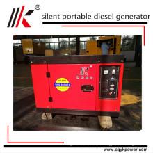 petit générateur inverter insonorisé diesel silencieux insonorisé de 2kw à 12kw 15kva
