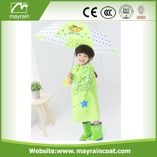 Long Kid' s Rain Suit