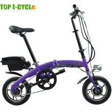 Top e-cycle Hecho en china 250W mini bicicleta eléctrica plegable