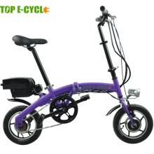 Top e-cycle Hecho en china 250W mini bicicleta eléctrica plegable