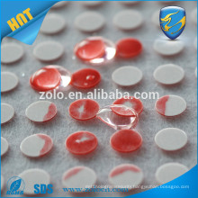 China Wholesales change color material Water sensitive sticker