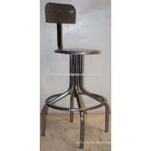 Metal Swivel Industrial Hocker