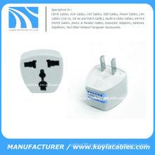 UK/AU/EU to US AC Power Plug Travel Adapter