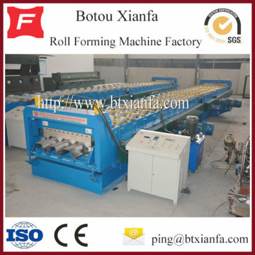 Galvanized Steel Floor Deck Roll Forming Machine