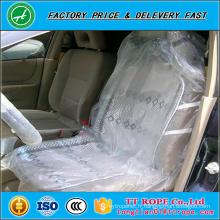 Couverture jetable de siège de voiture de PE avec l'impression d'une couleur