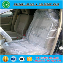 PE Disposable Car Seat Cover with one colour printing