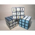 Speed Cube 3X3 Stickerless Bunte Enhanced Edition Smooth Magic Cube