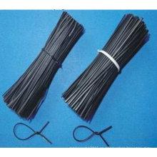 Alambre de corte recto negro y galvanizado de alta calidad de la fábrica de China