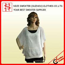 Ladies' fashion batwing sweater