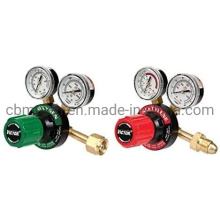 Regulator with 0-400 Psi Delivery Pressure Equipment Brass Inlet Outlet Connection Gauges