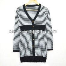 13STC5492 senhoras casacos longos camisola