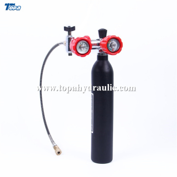 Best Price for 300 Bar Air Gun Charging Cylinders Paintball aluminum 30mpa gas bottle sizes supply to North Korea Supplier