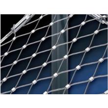 Malha de aço inoxidável flexível da corda de fio para a rede do aviário (fábrica de China)