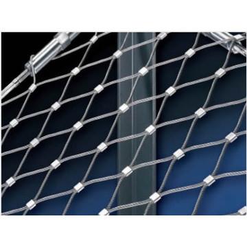 Flexible Edelstahl-Drahtseil-Masche für Voliere-Filetarbeit (China-Fabrik)