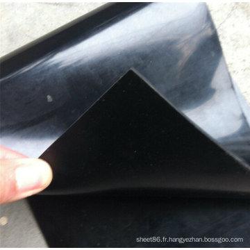 Feuille en caoutchouc de néoprène de Cr de bas prix / feuille en caoutchouc de néoprène de prix usine