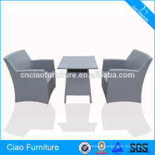 All weather outdoor rattan coffee furniture