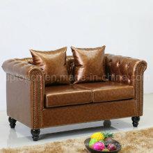 New Design Grace Home Sofa Seating Leather Sofa (SP-KS316)