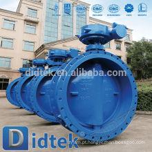 Válvula borboleta de água com flange de tripla válvula de dilatação Didtek