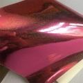 Miroir PU Glitter Polyester Cuir pour vêtements