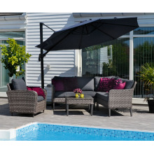 Outdoor Rattan Garden Wicker Furniture Patio Sofa Lounge Set