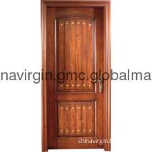 purely wood door with high quality ,solid wood doors WZ-ML005