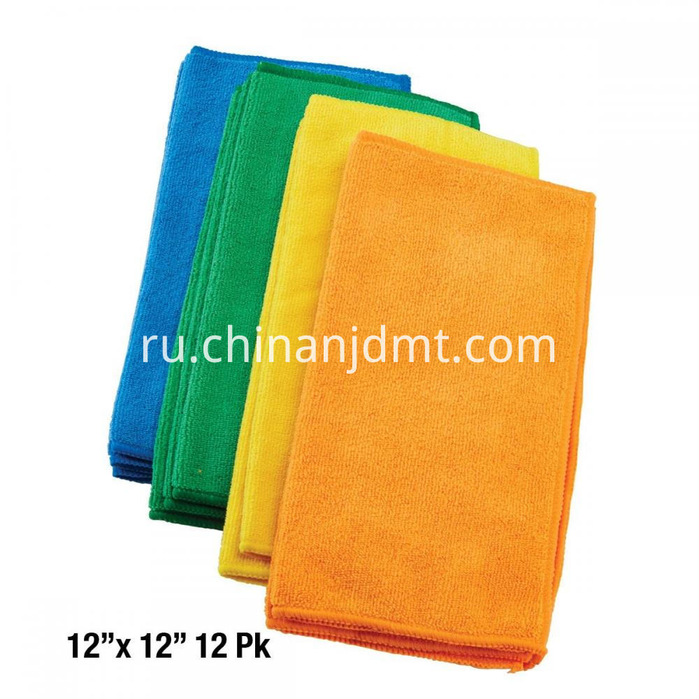 Microfiber Cleaning Cloth 12x12 12 Pk