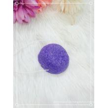 Esponja de limpeza facial Japão Esponja konjac natural