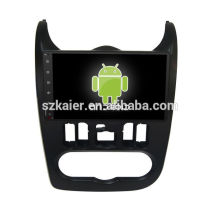 Quad core! Android 6.0 voiture dvd pour LOGAN / SANDERO avec écran capacitif de 9 pouces / GPS / lien miroir / DVR / TPMS / OBD2 / WIFI / 4G