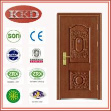 Steel Security Door KKD-503 with Invisible Hinge for Customization