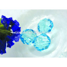 Cheap football glass beads