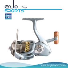 Angler Select Zoey Spinning Reel Пресная вода 10 + 1 Bb Большая рыбалка для рыбалки (Zoey 400)