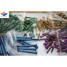 price for titanium Gr5 screws-various color
