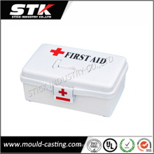 Moulage par injection en plastique Medica Shell pour kit de premiers soins en plastique