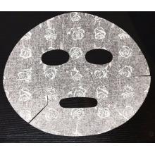 Soins de la peau de beauté non-tissé sec imprimé couleurs 3D Masque facial Rose impression masque facial feuilles