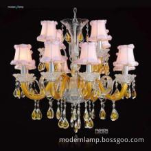 Indoor candle chandelier & pendant light
