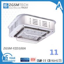 Montagem em superfície de 100W dossel LED gás estação luz