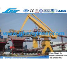 Escória de aço hidráulico Jetty Power Plant Máquina E Crane