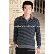 Polo neck 100% Cashmere sweater jumper for men