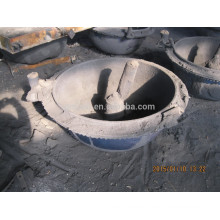 Mixer part in concrete mixer truck in large iron casting