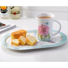 (BC-MK1014) Fashinable Design Réutilisable Melamine 2PCS Dinner Set