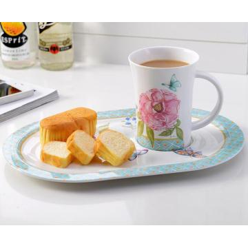 (BC-MK1014) Fashinable Design Reusable Melamine 2PCS Dinner Set