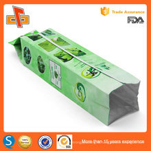 FDA approved custom printing chinese side gusset empty herbal biodegradable tea bag