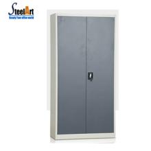 Modern simple design bedroom wardrobe design metal bedroom wardrobe safe locker inside 2door bedroom wall wardrobe closet desig