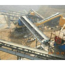 Long Distance Quartz Sand Loading and Unloading Belt Conveyor