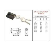 Cilindro padrão com fechadura de porta do botão