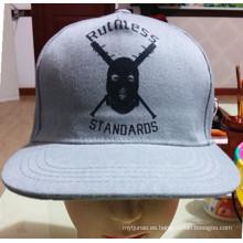 Bordado personalizado de la marca de fábrica del OEM y casquillo del deporte de la ciudad de la ciudad de la impresión