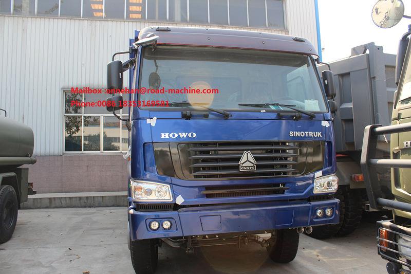 Blue Dump Truck 371hp 1