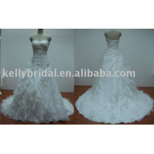 beautiful bridal gown, wedding dress