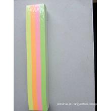 Tira de papel colorido de 80GSM para decoração de férias